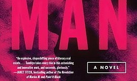 """Photo of the cover of """"Any Man,"""" a novel by Amber Tamblyn."""