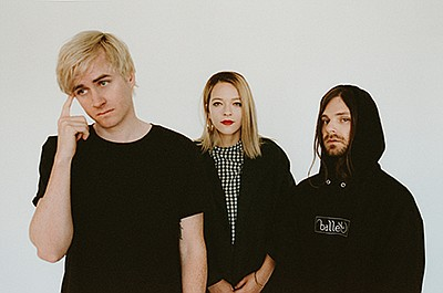 Promotional photo of Emo Nite founders (from left to righ...