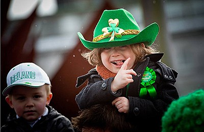 Photo from a previous St. Patrick's Day Parade and Festiv...