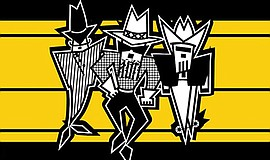 Promotional graphic for ZZ Top / Cheap Trick Live. Courte...