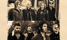 Promotional graphic for Stone Temple Pilots. Courtesy of ...