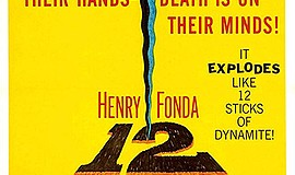 Promo graphic for Film & Discussion: '12 Angry Men'