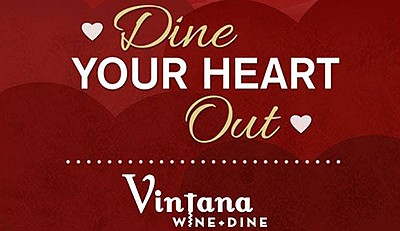 Promotional graphic for the Valentine's Day meal. Courtes...