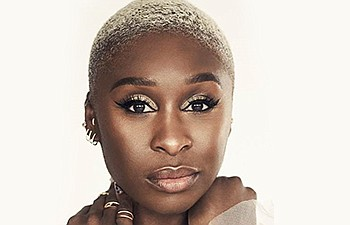 A promotional photo of Cynthia Erivo, courtesy of San Die...