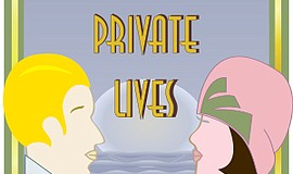 Promo graphic for Noel Coward's 'Private Lives'