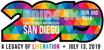 Promotional graphic for Front Runners & Walkers Pride 5K ...