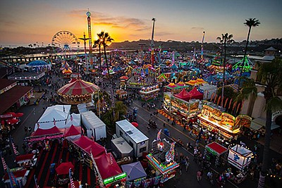 Photo from last year's fair. Courtesy of the San Diego Co...