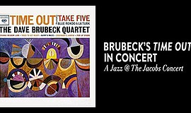 Promotional poster for the Brubeck concert. Courtesy of t...