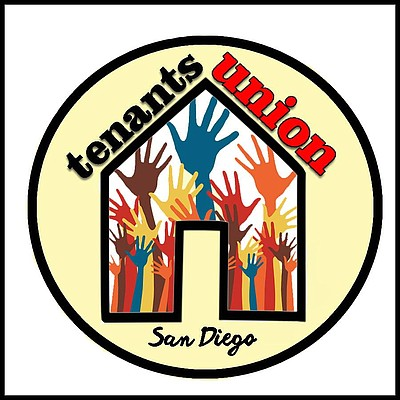 Promotional graphic courtesy of the San Diego Tenants Union.