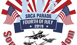 Graphic for the annual Scripps Ranch Fourth of July Parad...