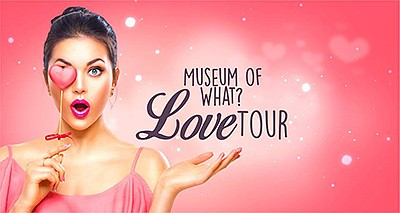"Promotional poster for ""Love Tour."" Courtesy of the Museu..."