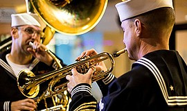 Promotional graphic for Veterans Day Concert. Courtesy of...