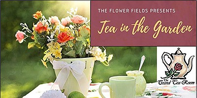 Promotional photo for Tea in the Garden. Courtesy of The ...