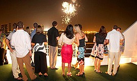 Promotional photo for 4th Of July Fireworks Cruises. Cour...
