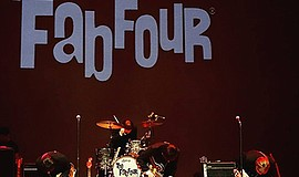 Photo of The Fab Four performing. Courtesy of Robert Kern.