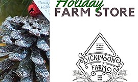 Promotional graphic courtesy of W.D. Dickinson: Farm, Hou...