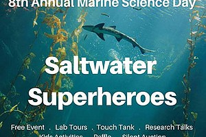 Promotional photo for the Marine Science Day. Courtesy of the Marine Ecology ...