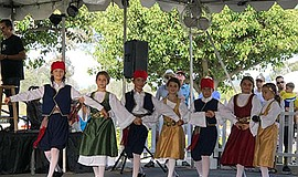 Promotional photo for Annual Cardiff Greek Festival