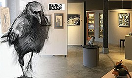 Promotional graphic for The Crow Show Open House. Courtes...