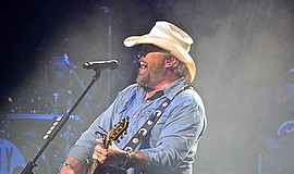 Photo of the featured performer. Courtesy of Toby Keith.