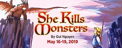 """Promotional graphic of """"She Kills Monsters."""" Courtesy of ..."""