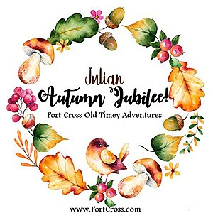 Promotional graphic for Julian Autumn Jubilee courtesy of...