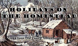 Promotional photo for Holidays on the Homestead courtesy ...