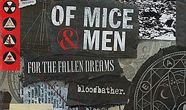 Promotional graphic for Of Mice & Men 'The Earth Tour'