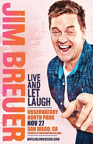 Promotional photo for Jim Breuer: Live And Let Laugh cour...