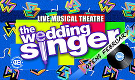 Promo graphic for 'The Wedding Singer'