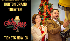 """Promotional graphic for """"A Christmas Story."""" Courtesy of ..."""