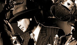 A promotional photo of Big Bad Voodoo Daddy, courtesy of ...
