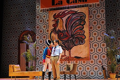 """A photo from """"The Barber of Seville,"""" courtesy of Kelly &..."""