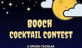 Promotional photo for the BOOch Cocktail Contest. Courtes...