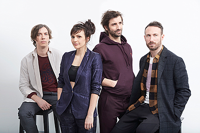 Promotional photo for Caravan Palace courtesy of The Obse...