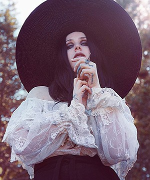 Promotional photo for Chelsea Wolfe courtesy of The Obser...