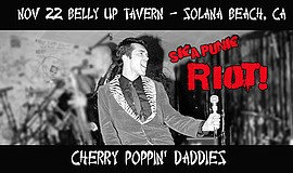 Promo graphic for Cherry Poppin' Daddies