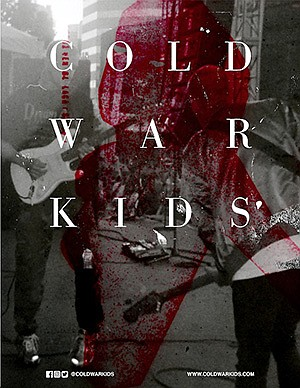Promotional photo for Cold War Kids courtesy of The Obser...