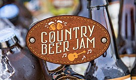 Promo graphic for Country Beer Jam