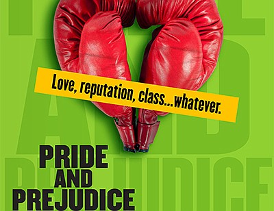 """A promotional poster for """"Pride and Prejudice,"""" courtesy ..."""