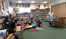 Promotional photo for the One Book For Kids Afterschool Activity at Descanso ...