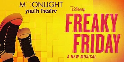"""Promotional graphic for Moonlight Youth Theatre's """"Freaky..."""