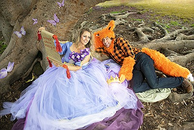 Promotional photo of the princess and the fox for The Enc...