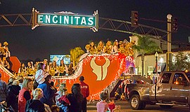 Promotional photo for the Encinitas Holiday Parade