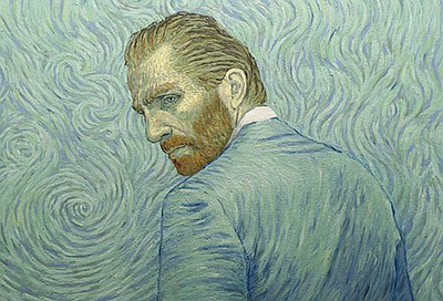 "Promotional artwork for the screening of ""Loving Vincent...."