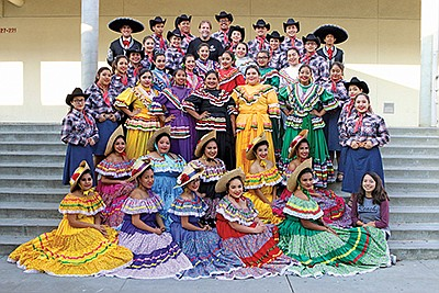 Photo of the Mother's Day Celebration performers. Courtes...