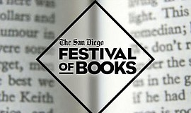 Promo graphic for The San Diego Festival Of Books
