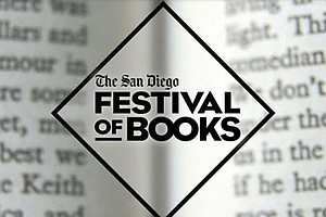 Logo for San Diego Union-Tribune's San Diego Festival of Books