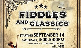 Promo graphic for Fiddles And Classics