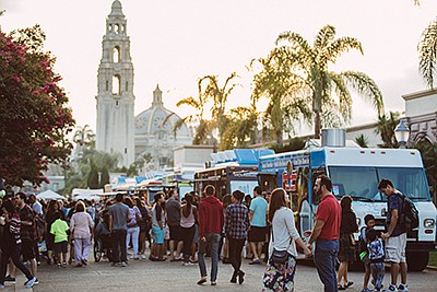 Promotional photo for Spring Fling Food Truck Festival at...